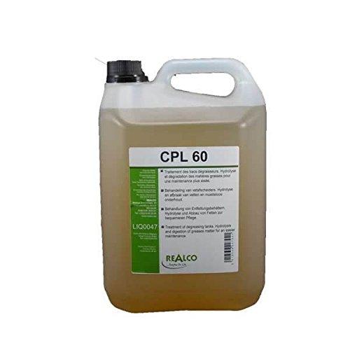 Traitement bac à graisse biologique liquide aux enzymes CPL 60
