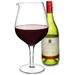 Carafe à décanter en forme de verre à vin géant - 1,9litre