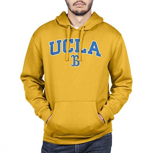 Top of the World Herren Sweatshirt NCAA Team Color Hoodie, Herren, Team Color Hoodie Sweatshirt, UCLA Bruins Gold, X-Large
