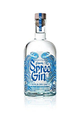 BIO Spree Gin - Berlin Dry Gin - Organic (1 x 0,5l) -