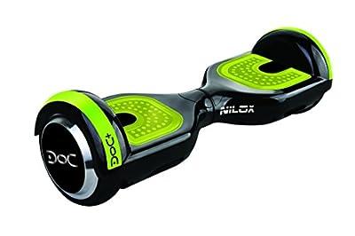 """Nilox Hoverboard Doc Plus, UL 2272, Bluetooth, schwarz - Dank des starken Motors """"fliegen"""" Sie mit dem Hoverboard mit einer maximalen Geschwindigkeit von 10 km/h."""