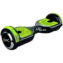 Nilox Hoverboard Doc Plus UL 2272 con Bluetooth, Self Balance Scooter Elettrico con LED, Balance Scooter Autobilanciato, Due Ruote 6,5'', Motore 360 W, Velocità massima 10km/h, Nero