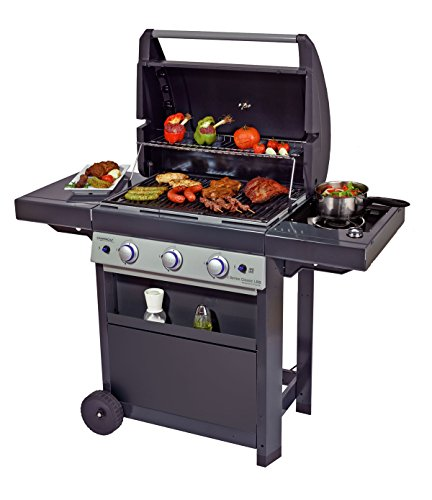 camping gaz 3 series classic lbs barbecue a gas grigio. Black Bedroom Furniture Sets. Home Design Ideas