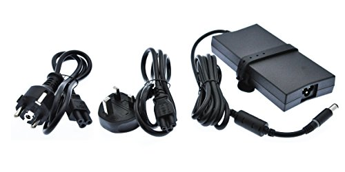 Dell Alienware, Inspiron, Latitude, Studio, Precision, Vostro, XPS 130W Power Adapter + Power Cables VJCH5 DHYM1 450-19083 450-19105 (Vostro Studio)