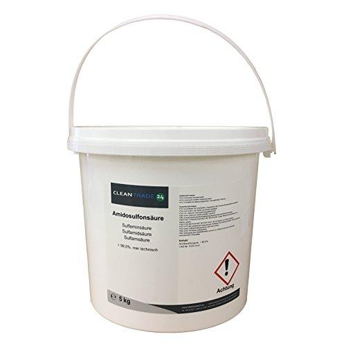 5 kg Amidosulfonsäure Sulfaminsäure Entkalker Pulver Kaffeemaschinenreinigung