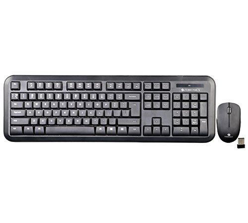 Zebronics KB-Zeb Wireless Keyboard & Mouse Combo (Companion 101)