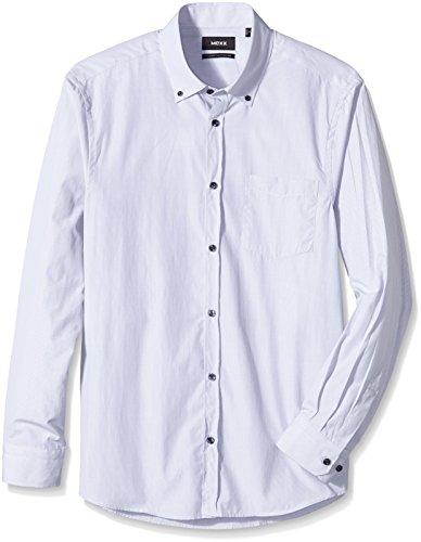 Mexx MX3000717-Camicia Uomo    Grau (Sleet 019) XX-Large