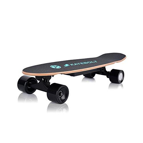 SKATEBOLT Kleine Fische Teller 70,9 cm (710 mm) Elektro-Skateboard 10-20 km/h 250 W hub-motor 7 cm Rollen Langlebig Leicht