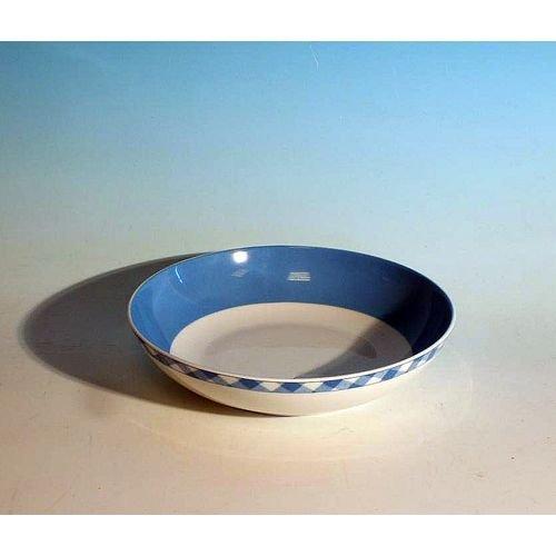 MAISON A VIVRE Assiette calotte 'vichy bleu' (lot de 6) - VICHY BLEU AC