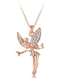 Yiwu Crystal MULTI COLOUR 18K ROSE GOLD METAL CHAIN/PENDANT Fashion Jewellery For WOMEN