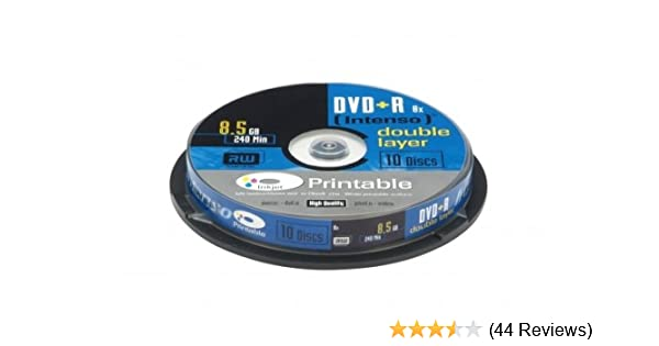 Intenso DVD+R 8,5GB Double Layer Printable 8x Speed: Amazon.de ...