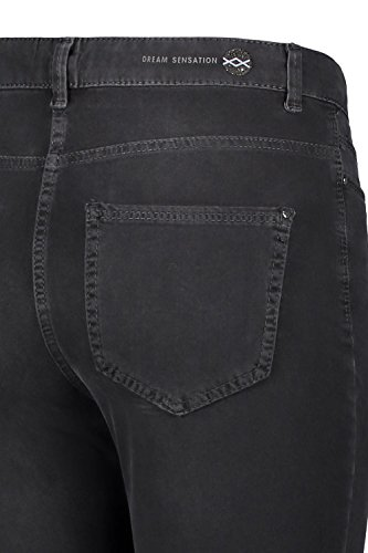 MAC Damen Jeans Sensation Skinny D904 grey black used