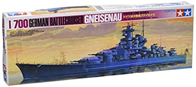 Tamiya - 77520 - Maquette - Bateau - Croiseur Gneisenau