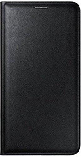 Johra Leather Black Flip Cover Case For Lava A97 Flip Cover