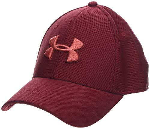 Under Armour Men's Blitzing 3.0 cap, Cappello Uomo, Rosso Aruba Red/COHO 651, S/M