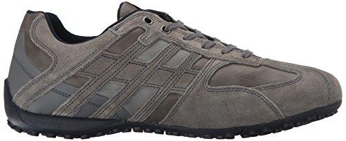 Geox Snake K, Grau Low Athletic Sneakers (greyc1006)