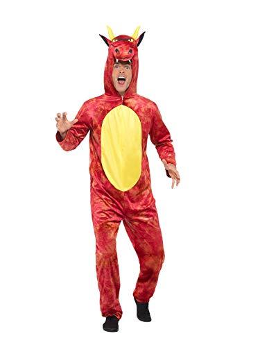 Smiffys 47366L - Disfraz de dragón de lujo para hombre