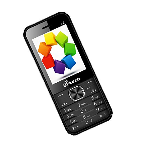 MTECH L2 :16 GB EXPANDABLE BLACK GREY MOBILE WITH WIRELESS FM