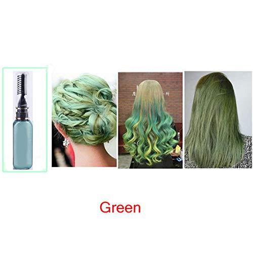 Rocl Haarkreide 15 ml temporäre ungiftige Farbe Haarfarbe Unisex Cosplay DIY Salon Hair Mascara – Pink