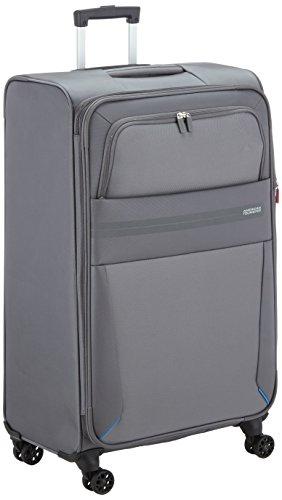 American Tourister Summer Voyager Bagaglio a mano, 79 cm, 123 litri, Volt Grey