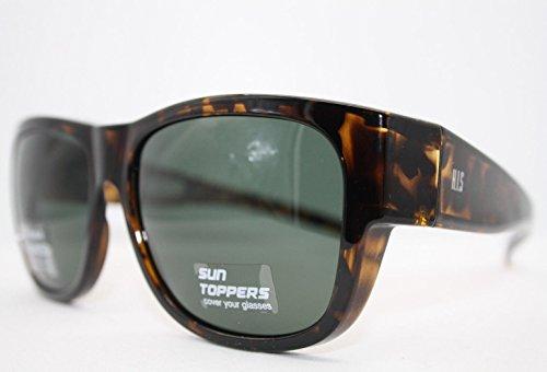 HIS HP 79100-4 Sonnenbrille Überziehbrillen mit Polaroidgläser