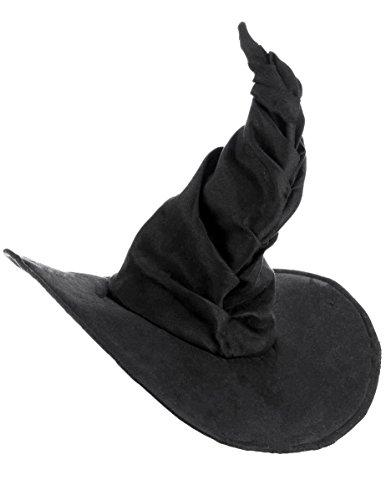 Vegaoo - Hexenhut schwarz für Erwachsene - Einheitsgröße