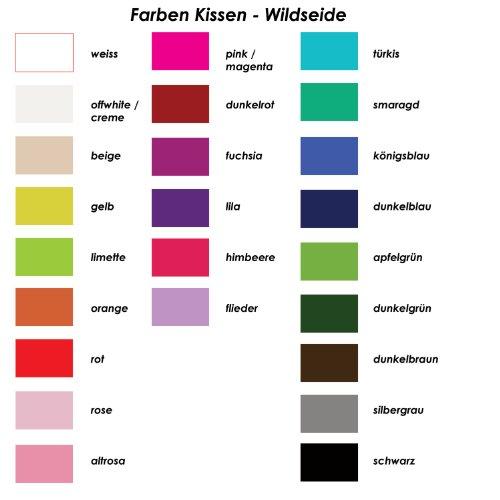 Bague Boutique Coussin Satin Bague Oreiller perles avec clé en couleurs différentes | à la main 17x 17cm Kissen: weiss, Band: weiss Kissen: weiss, Band: gelb