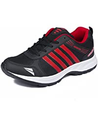 ASIAN Shoes Wonder 13 Black Red Men's Sports Shoes