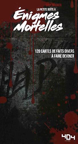 Énigmes mortelles par Davy Mourier