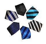 Vellede Corbata de hombre, 6 estilos, regalo para novio, la mejor opción para regalo del padre