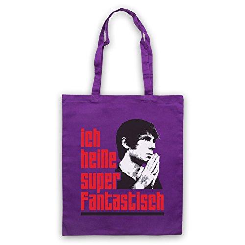 Inspiriert durch Franz Ferdinand Darts Of Pleasure Inoffiziell Umhangetaschen Violett