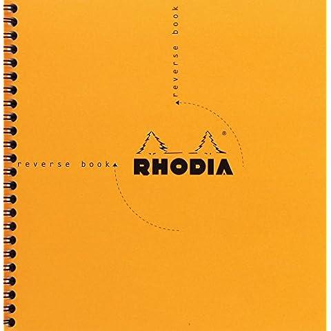 Rhodia 19360C Retro-Quaderno con spirale, a quadretti,
