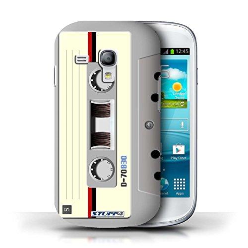 Kobalt® Imprimé Etui / Coque pour Samsung Galaxy S3 Mini / Amp/Amplificateur conception / Série Retro Tech Compact Cassette Audio