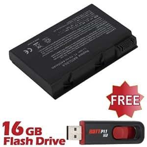 Battpit Batterie d'ordinateur Portable de Remplacement pour Acer Aspire 5102WLMi (4400mah / 49wh) Avec Clé USB 16 Go GRATUIT