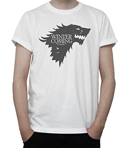 Game Of Thrones Winter Is Coming Mens T-Shirt Large
