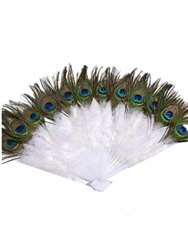 Bauchtanz kostüm Peacock Feather Fan Bauchtanz Zubehör