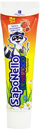 Saponello - Dentifricio, Frutti Rossi, 75 ml