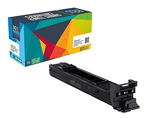 Doitwiser ® Konica Minolta Magicolor 4650 4650DN 4650EN 4650MF 4690MF 4695MF Kompatible Toner Schwarz Hohe Seitenleistung - A0DK132 (Seitenleistung: 8,000 Seiten)