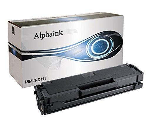 Alphaink AI-MLT-D111-18 Toner per Samsung Xpress M2022 M2026 M2070 M2020, 1800 Copie