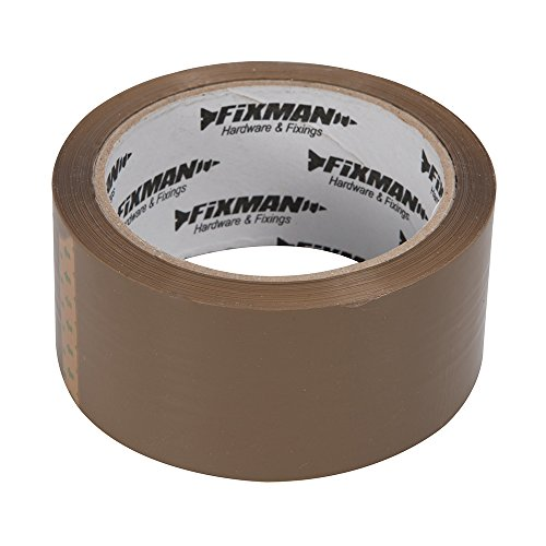 f1cbc9a8f70 Fixman 190368 Brown Adhesive Packing Tape 48mm x 66m - Buy Online in Oman.