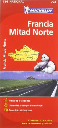 Mapa National Francia Norte (Mapas National Michelin)