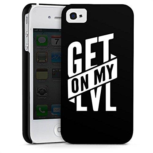 Apple iPhone 7 Plus Silikon Hülle Case Schutzhülle Montanablack Fanartikel Merchandise Get On My Level Schwarz Premium Case glänzend