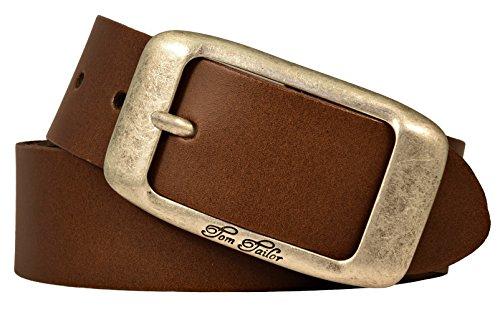 Schwarz Oder Braun Gürtel Leder Größe M-xxl Hoher Standard In QualitäT Und Hygiene Damen Neu Ledergürtel Herren