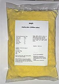 Magic Makka Atta Yellow Corn Flour, no Preservative, Pack of 500g
