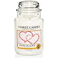 Yankee Candle Large Jar Candle, Snow in Love