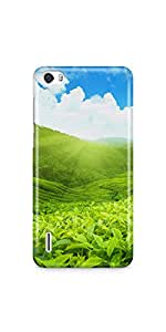 Casenation Estate Landscape Huawei Honor 6 Glossy Case