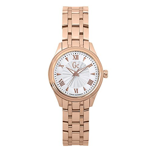GUESS COLLECTION Y03005L3 LADIES ROSE GOLD GOLD PLATED STAINLESS STEEL WATCH