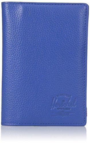 Herschel Raynor Passport Holder Leather Cobalt Leather