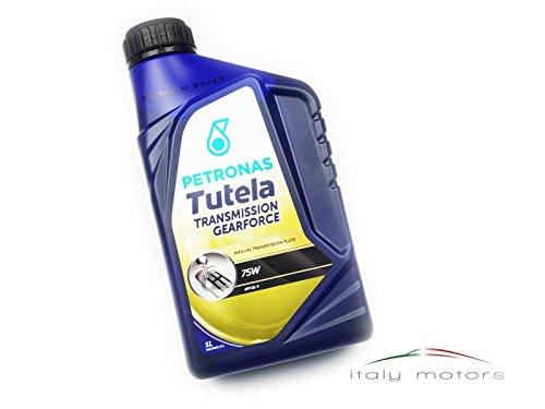 PetronasTutela - Olio di trasmissione Gearforce, 75 W, API GL-4 (1), contenitore da 1 l (etichetta in lingua italiana non garantita)