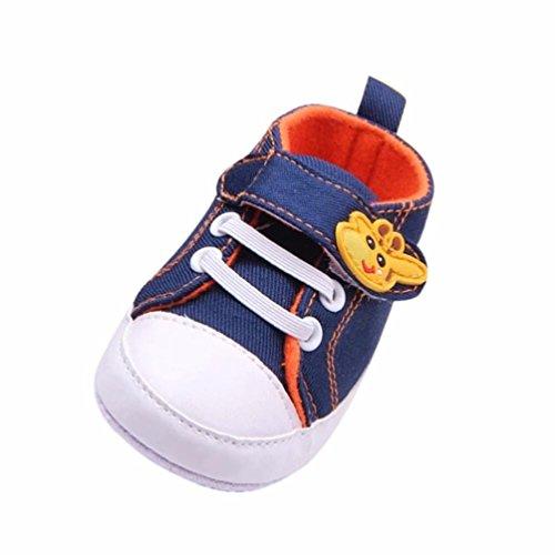 MEIbax Neugeborenes Kleinkind Baby Kind Mädchen Jungen weiche Anti Rutsch Karikatur Segeltuch beiläufige Schuhe,weichen Sohle Baumwolltuch Schuhe Infant Lauflernschuhe Krippeschuhe (Kleinkind Owl Shirt)